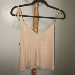Forever 21 Tied Spaghetti Strap Top